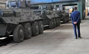 Киевский бронетанковый завод отправлял в АТО заведомо плохую технику