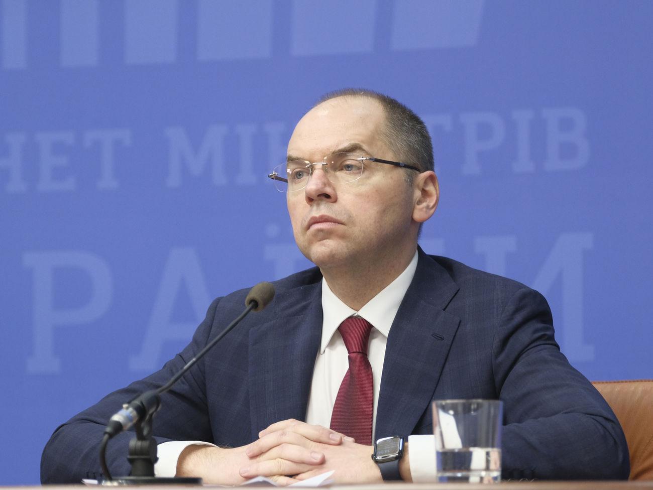 Нардеп: в отношении главы Минздрава Степанова возбуждено уголовное дело